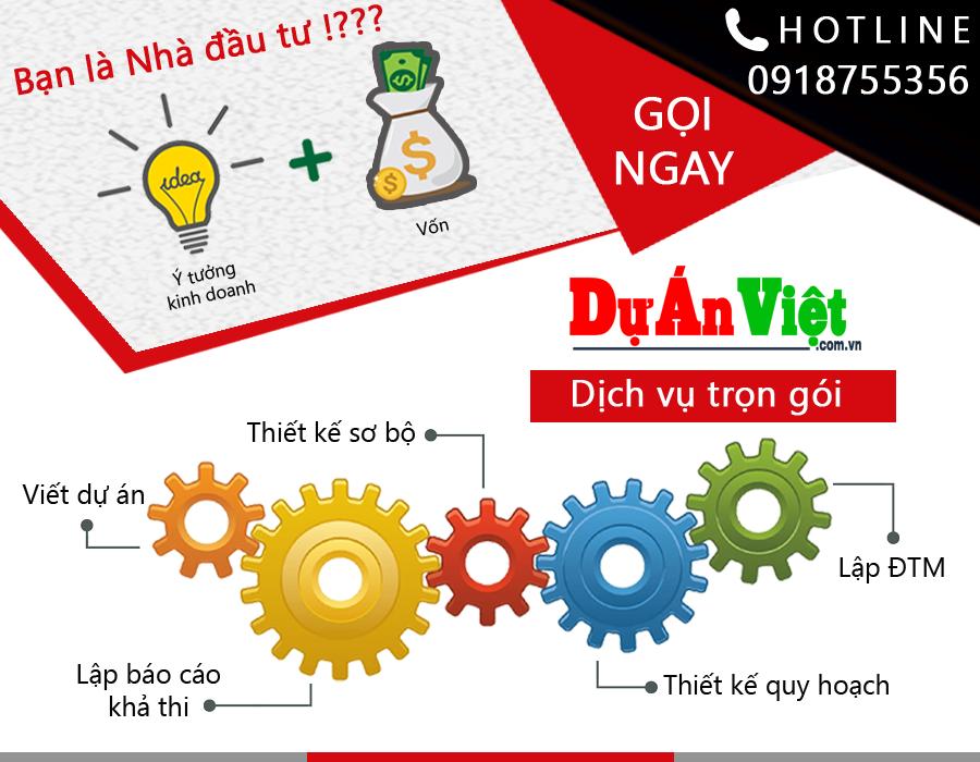 Dịch vụ trọn gói Lập dự án của Dự Án Việt