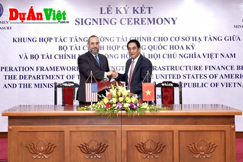 Hoa Kỳ hợp tác tạo nguồn lực đầu tư hạ tầng cho Việt Nam