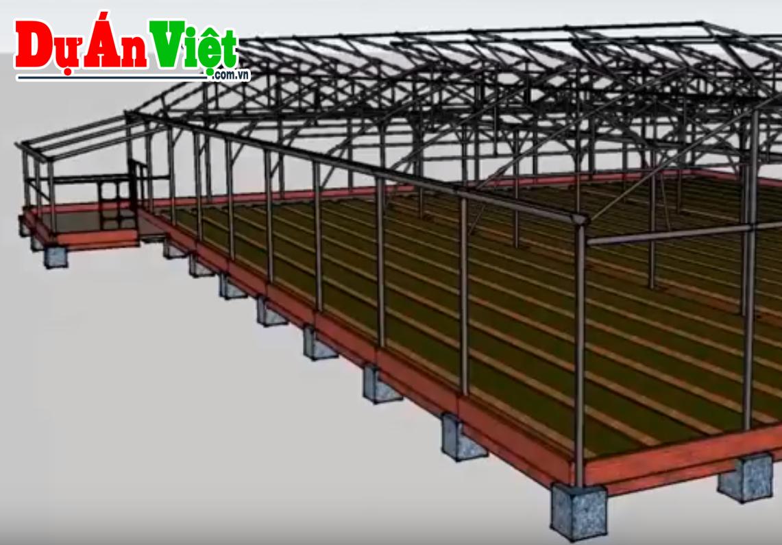 Video: Mô hình nhà màng máy hở