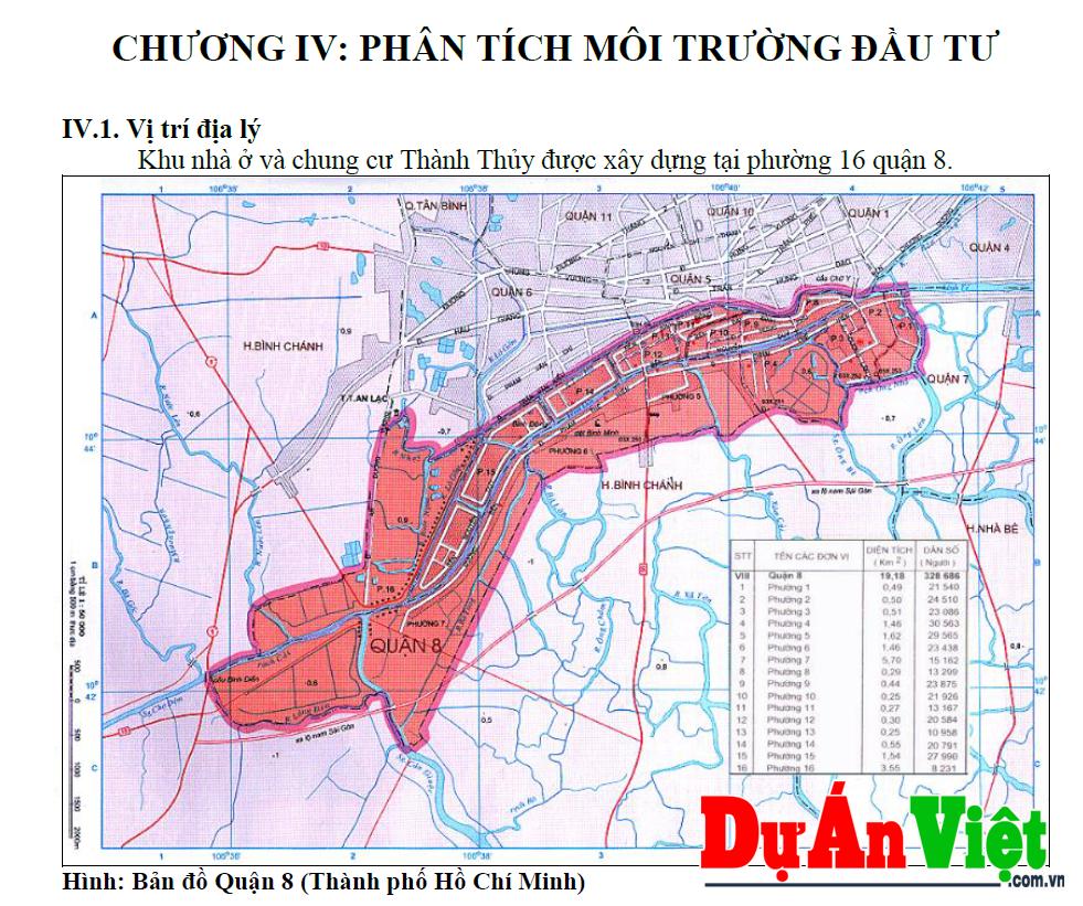 Dự án Khu nhà ở và Chung cư Thành Thủy