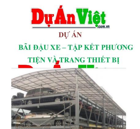 Dự án bãi đậu xe tập kết phương tiện và trang thiết bị Tp.Hồ Chí Minh