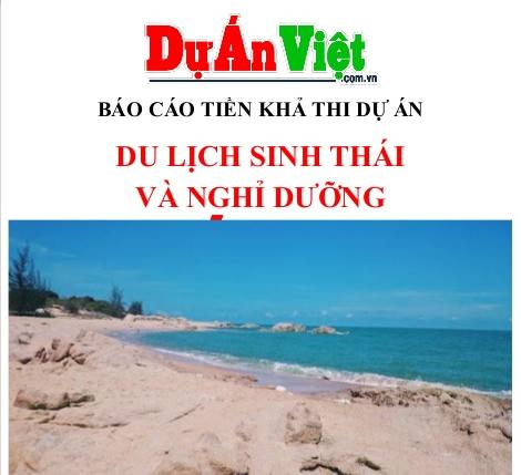 Dự án du lịch sinh thái và nghỉ dưỡng tỉnh Bà Rịa Vũng Tàu