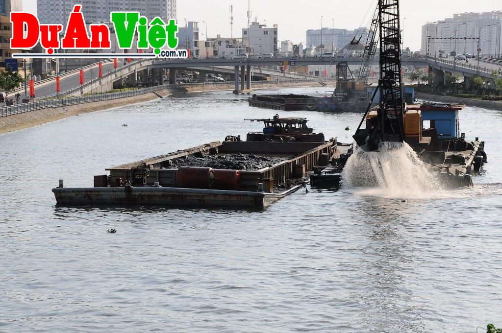 Dự án Nạo vét, khơi luồng thủy nội địa kết hợp tận thu sản phẩm trên sông Lô tỉnh Phú Thọ