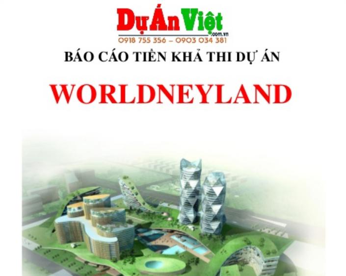 Thuyết minh dự án đầu tư Khu vui chơi giải trí Worldneyland tỉnh Vũng Tàu