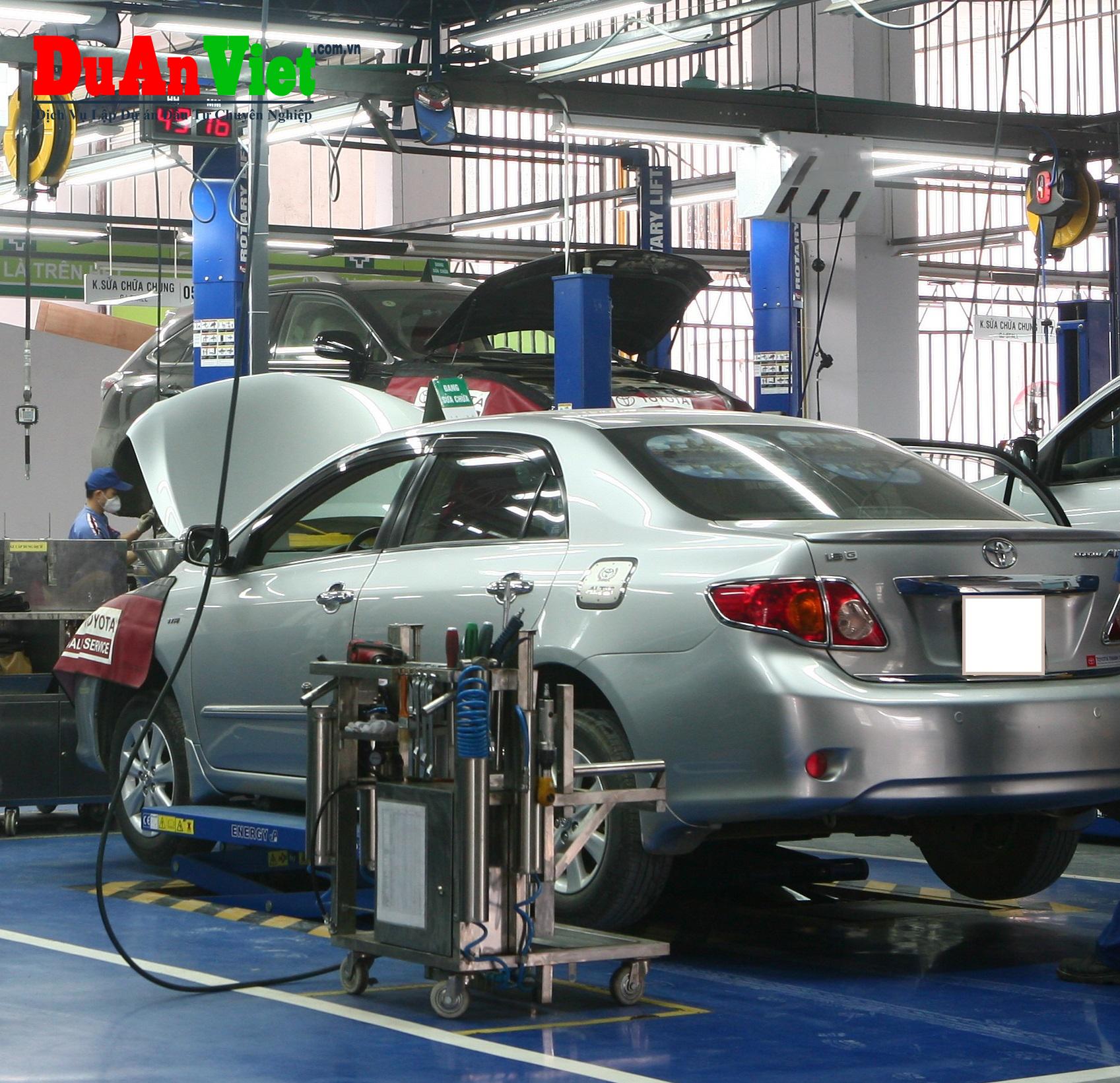 Dự án đâu tư dây chuyền kiểm định xe cơ giới Tân Sơn Nhất