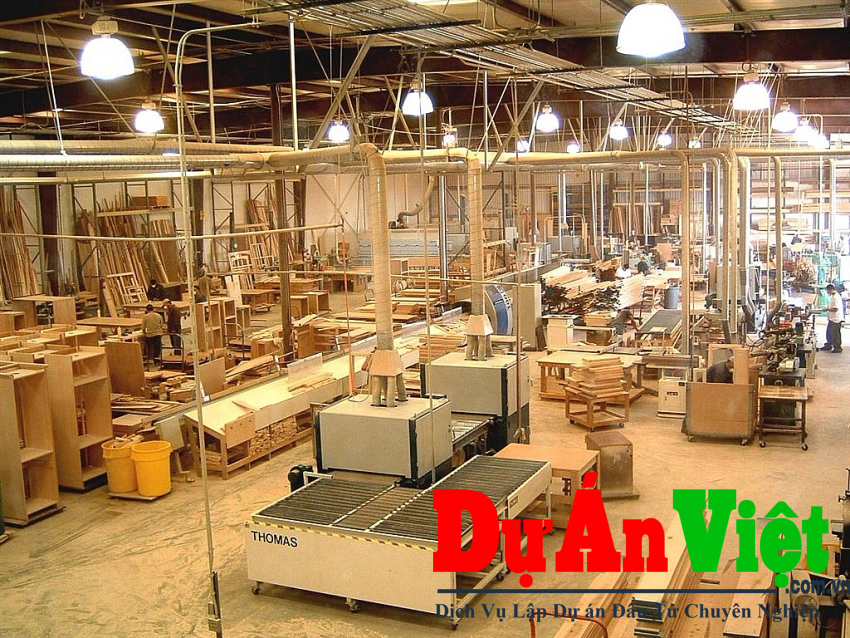 Dự án Đầu tư nhà máy cưa xẻ gỗ Đồng Tâm H.A