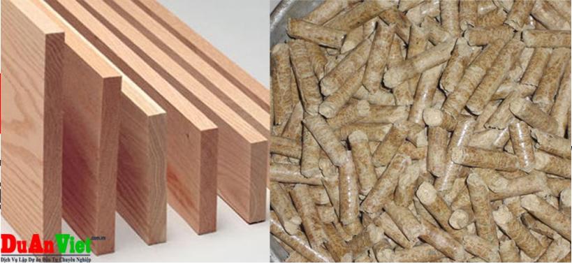 Dự án đầu tư nhà máy cưa xẻ, sấy gỗ sản xuất ván ép và viên nén gỗ