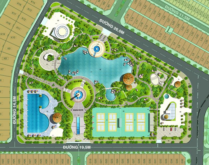 """Dự án """"Công viên văn hóa - lịch sử dân tộc"""" TP.HCM"""