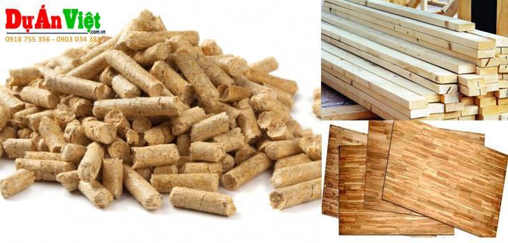 Dự án Nhà máy cưa xẻ sấy gỗ, sản xuất vép ép, gỗ ghép thanh, viên nén gỗ Thanh Hóa