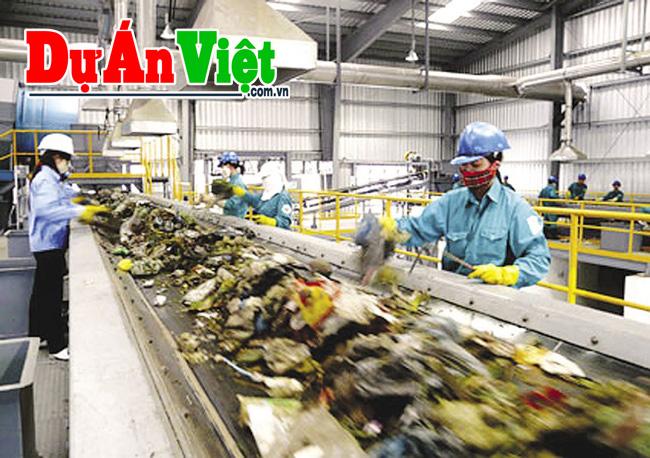 Dự án đầu tư Nhà máy xử lý và tái chế chất thải