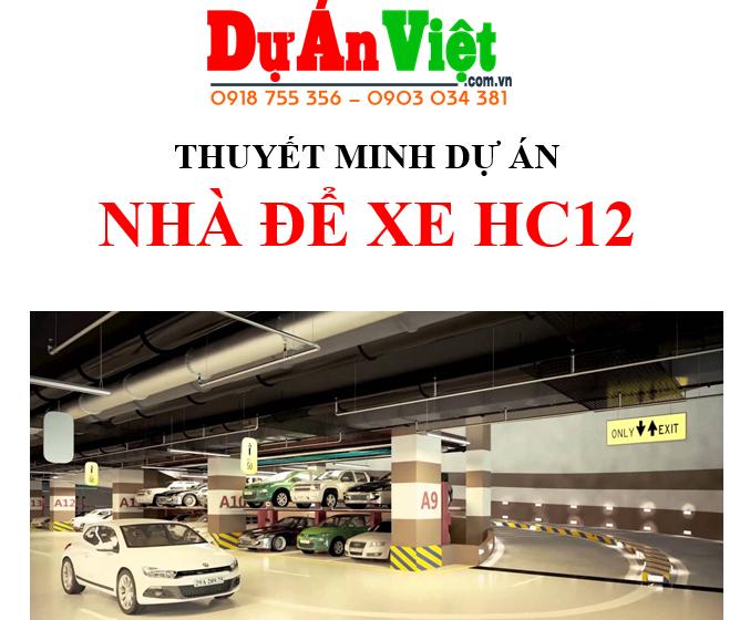 Dự án đầu tư xây dựng Bãi xe thông minh tại Đà Nẵng
