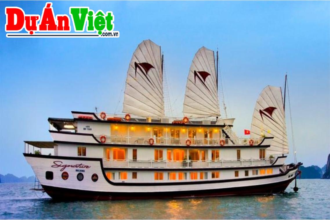 Dự án đầu tư Đóng mới du thuyền tại Cát Bà - Hạ Long