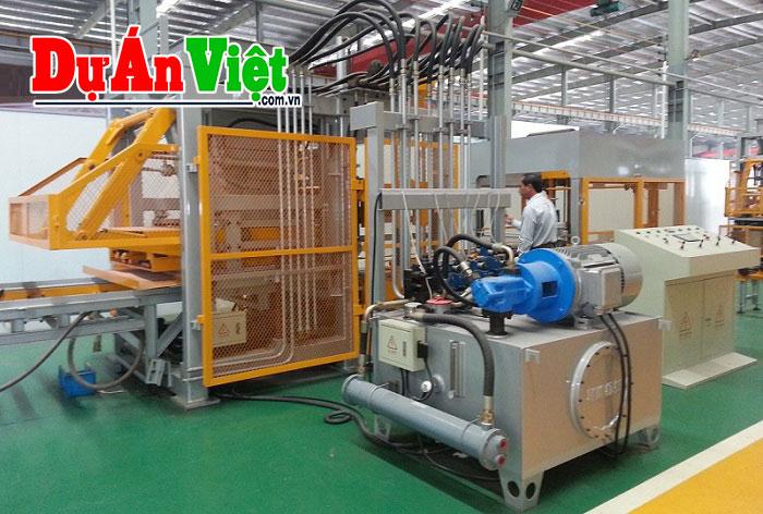 Nhà máy cơ khí Công nghệ và Dây chuyền thiết bị sản xuất gạch không nung Bình Dương
