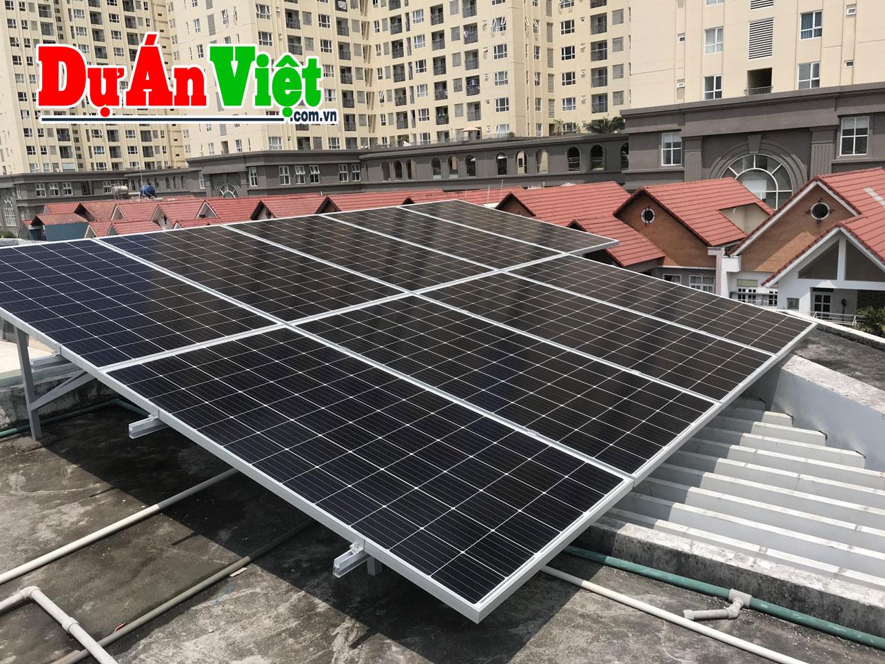 Thuyết minh dự án Nhà máy Sản xuất máy phát điện năng lượng mặt trời