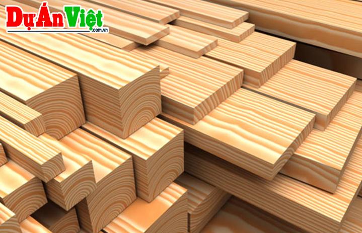 Dự án Sản xuất kinh doanh chế biến gỗ tỉnh Nghệ An