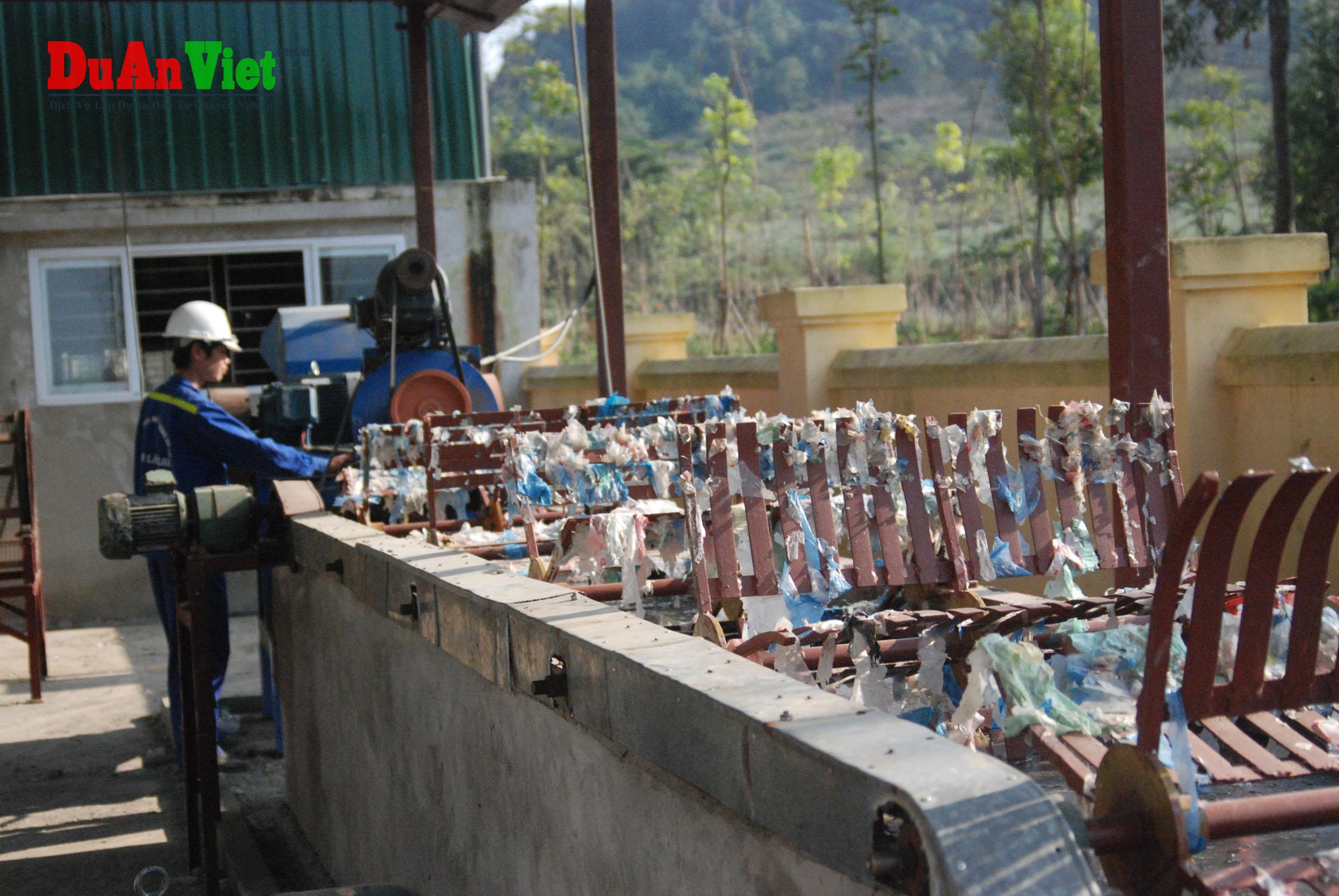 Dự án Nhà máy xử lý và tái chế chất thải