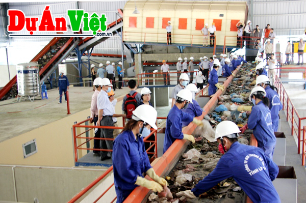 Hồ sơ dự toán Dự án Nhà máy xử lý rác Bá Phát