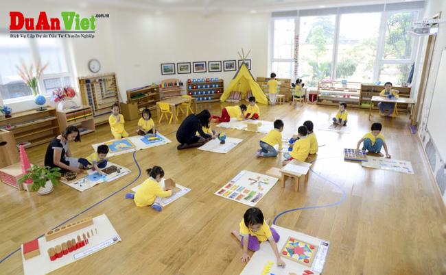 Dự án xây dựng trường mầm non hạnh phúc- Happy kids