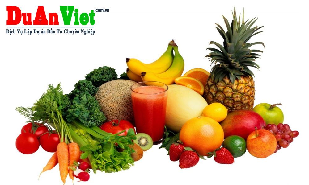 Dự án đầu tư cây ăn quả Phú Thọ