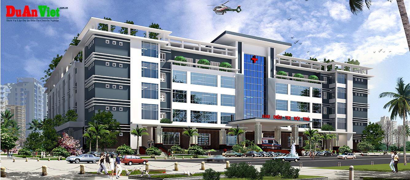 Dự án đầu tư xây dựng bệnh viện quốc tế