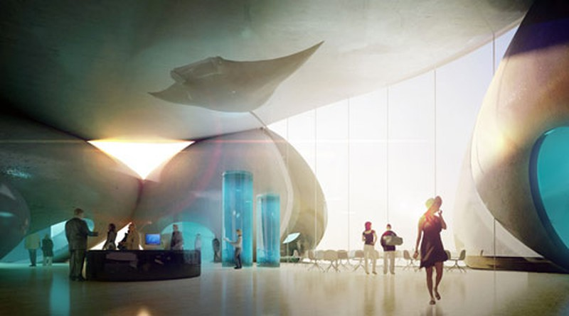 Dự án trưng bày các sinh vật biển kết hợp du lịch