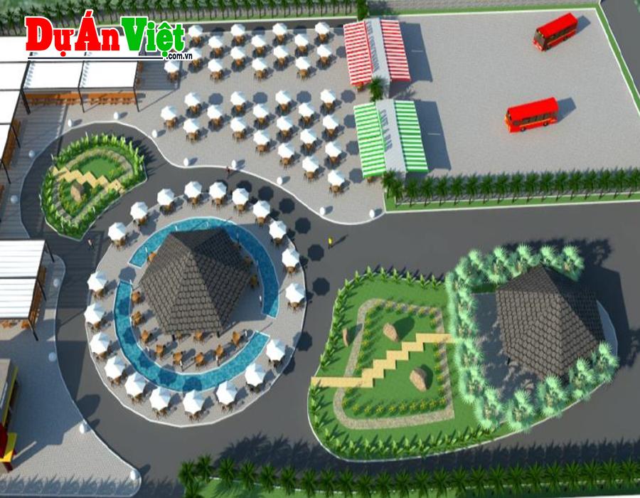 Thiết kế quy hoạch 1/500 - Dự án Khu du lịch
