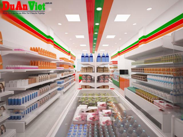Dự án xây dựng siêu thị mini ở Bình Thạnh