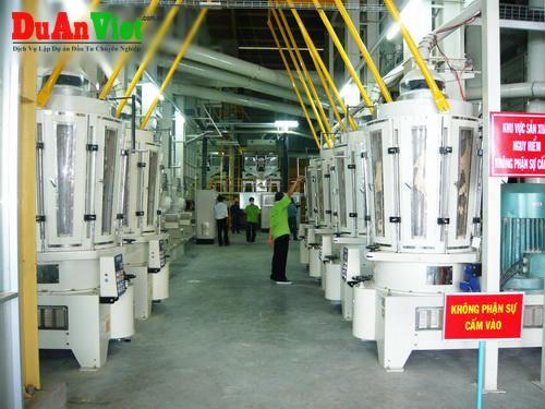 Dự án xây dựng nhà máy xay xát gạo xuất khẩu